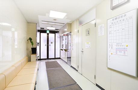 大阪でおすすめの新型出生前診断 奥野病院の受付